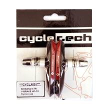 High Performance V-brake Remblokken Cyclotech Prostop HP-CX (Cyclocross) Onepiece
